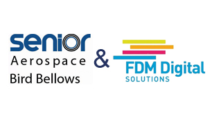 Senior Bird Bellows and FDM Digital Logo - Senior Aerospace Press Release