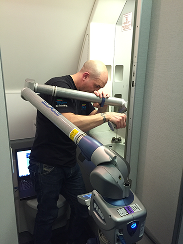 Russ Scanning Sink in a Boeing 757 - Sink Case Study