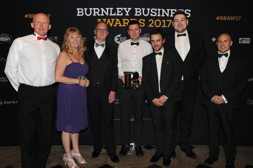 Burnley Business Awards 2017 FDM Digital Team - Digital Impact Award