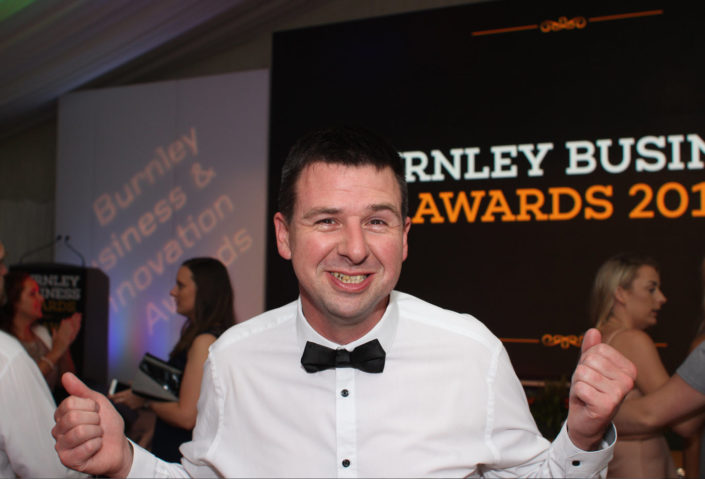 Burnley Business Awards 2017 Graeme - Digital Impact Award