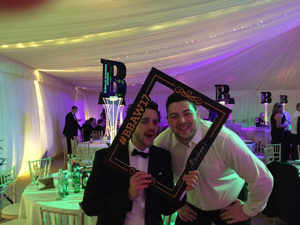 Burnley Business Awards 2017 Lloyd & Josh - Digital Impact Award