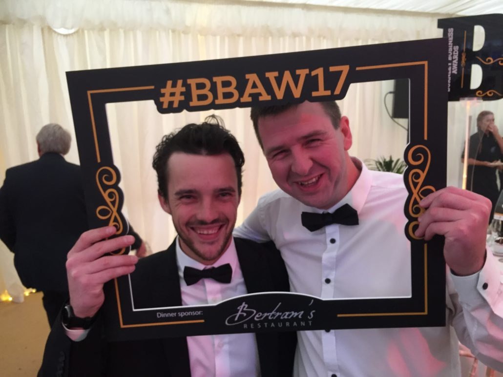 Burnley Business Awards 2017 Lloyd & Graeme - Digital Impact Award