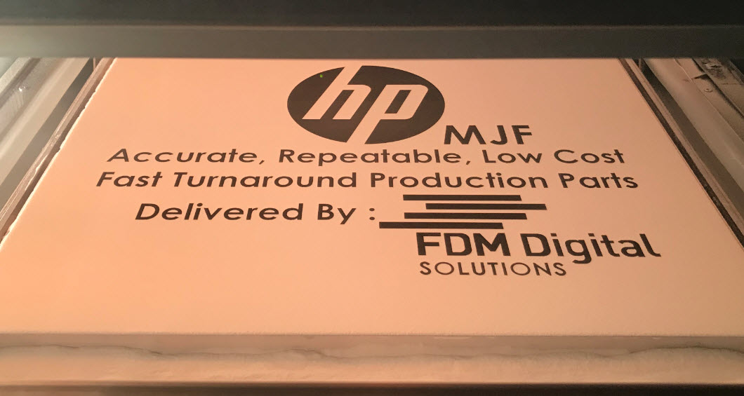 HP MJF FDM Digital Logo - HP MJF