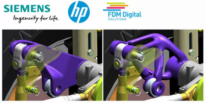 Siemens, HP & FDM -