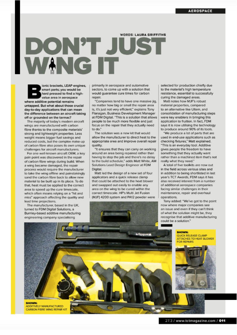 TCT Magazine Page June 2019