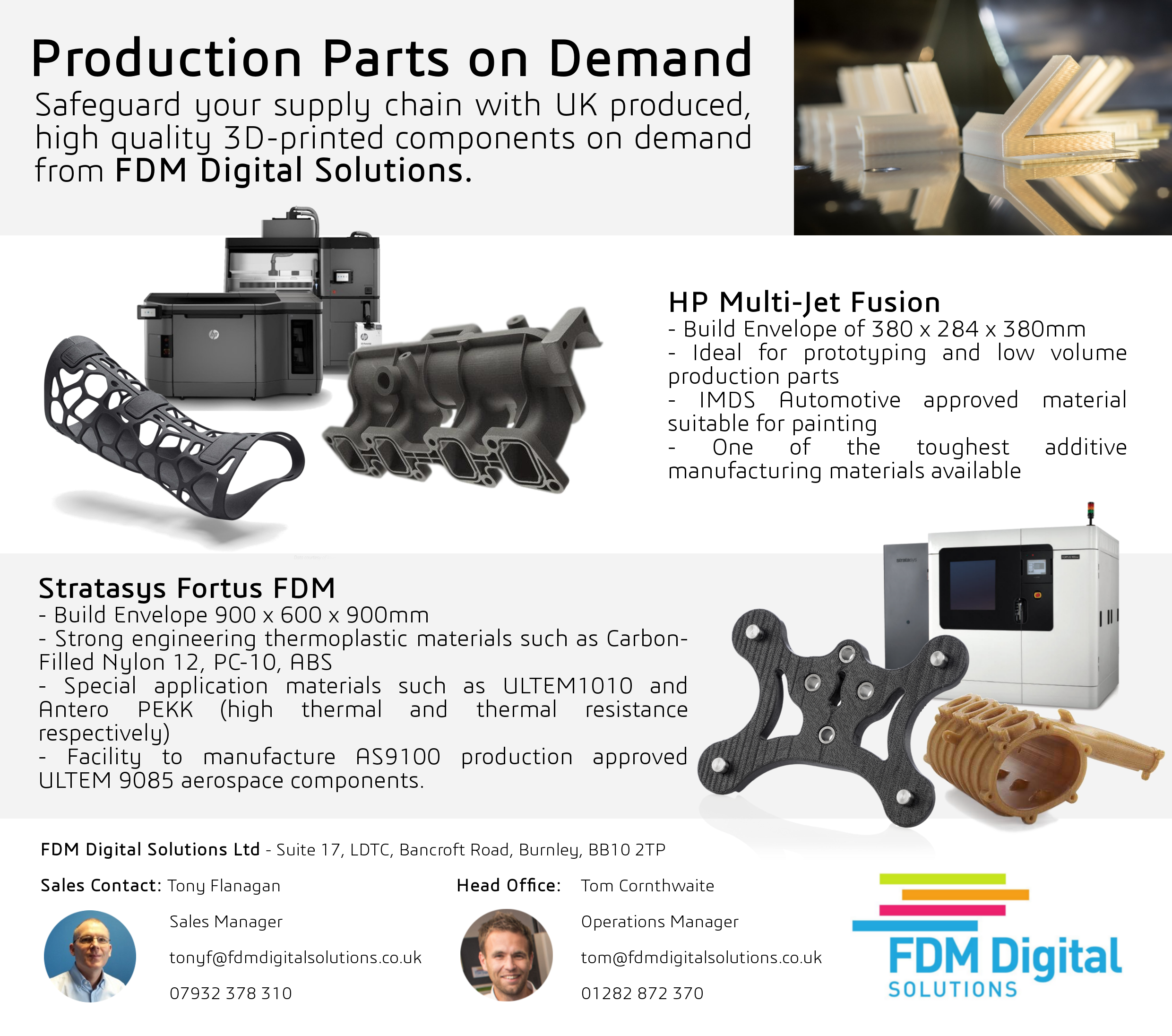 production parts on demand